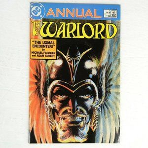 DC Annual The Warlord #5 1986 The Uxmal Encounter!